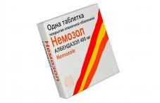 Немозол: наставление сообразно применению для того профилактики