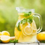 Домашний лимонад.