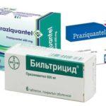 Лечение парагонимоза