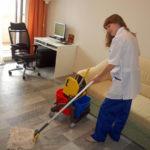 уборка дома против глистов