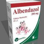 Альбендазол.