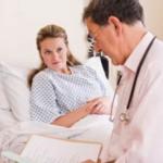 Обследование гинекологических больных.