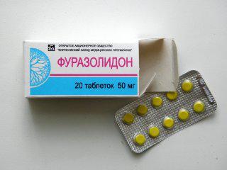 Что делать при отравлении фуразолидон