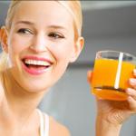 Морковный сок быстро очищает организм от глистов