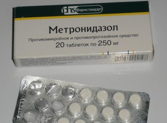 метронидазол от паразитов отзывы