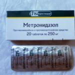Сколько виводится Метронидазол из организма: период виведения