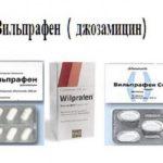 Фармакодинамика Вильпрафена