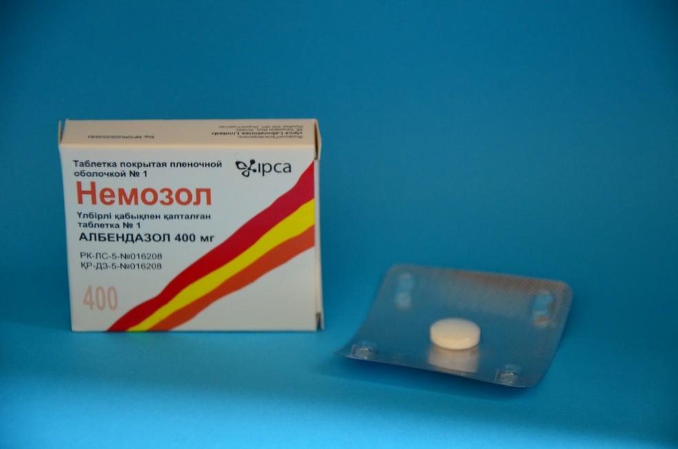 лекарство от червей паразитов