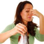 зараженная рыба для приготовления