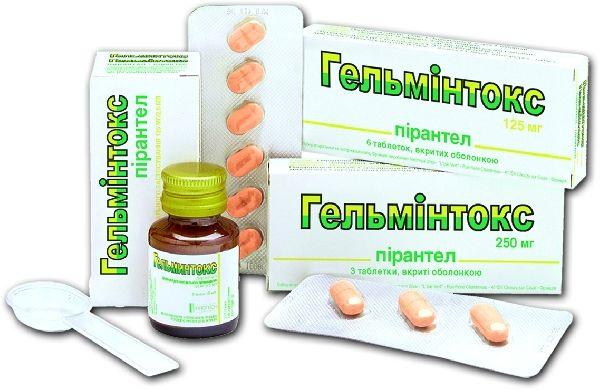 медикаменты от паразитов в организме