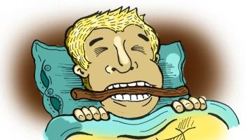 Почему человек во сне сильно сжимает зубы 137