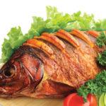 правильно термически обработанная рыба