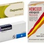 лечение аскаридоза препаратами