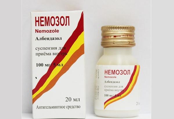 Показания к применению и побочные действия препарата Немозол от глистов